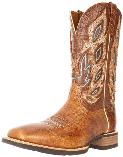 Ariat Mens Nighthawk Western Cowboy Boot Beasty Brun