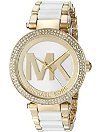 Womens Parker Gold-Tone Watch MK6313