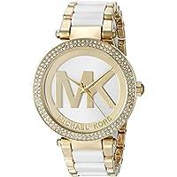 Michael Kors Women's Parker Gold-Tone Watch MK6313