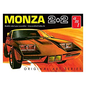 AMT AMT1019 1:25 Scale Chevy Monza 2+2 Custom Model Kit 3