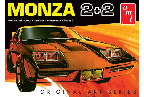 AMT AMT1019 1:25 Scale Chevy Monza 2+2 Custom Model Kit 1