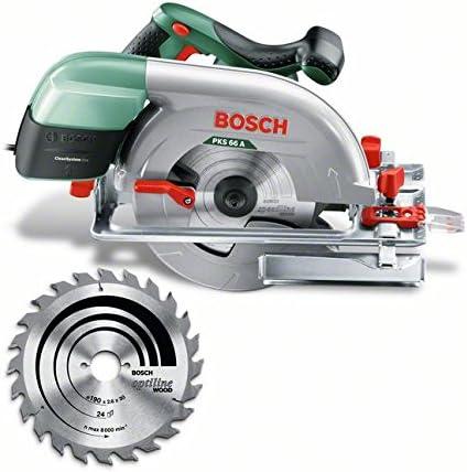 Bosch Home and Garden 0.603.502.002 Sierra circular portátil, 1600 ...