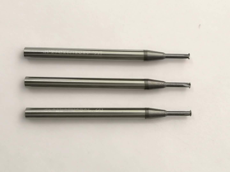 AlTiN Finish 3 Flutes M2.0X0.4-3D ZLT Thread Mill Carbide 1 Tooth Metric