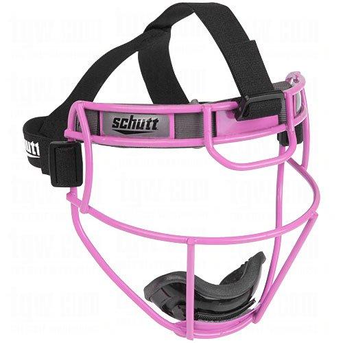 Schutt Sports Softball Fielders Guard (Pink, Varsity) (Mask Pitchers)