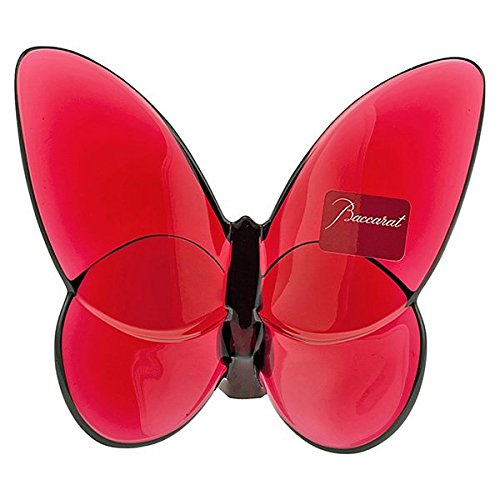 Baccarat Lucky Butterfly Ruby Red