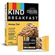 KIND Breakfast Bars, Honey Oat, Gluten Free, 1.8oz, 32 Count