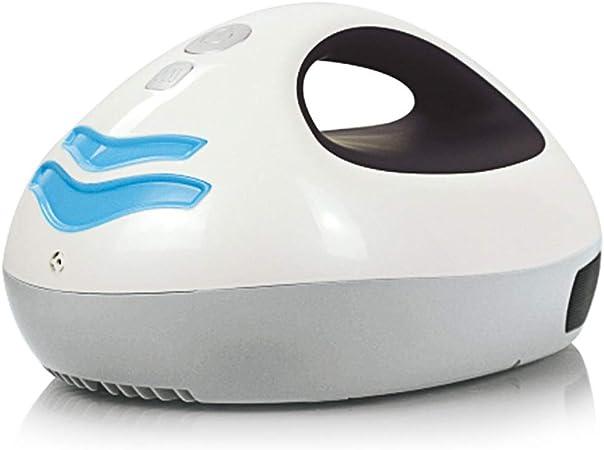 Zhongyangfangdichan Robot de vacío U-Tipo UV Doble Zona de esterilización Cama inalámbrica de Carga Horizontal Desodorante: Amazon.es: Hogar