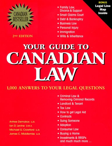 Your Guide to Canadian Law: 1,000 Answers to the Most Frequently Asked Questions (Cost Of Postage To Canada From Us)