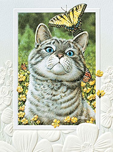 Pumpernickel - Buttercup Note Cards - Cat - Box of (Buttercup Cat)
