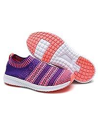Dream Pairs 170379-K New Boys & Girls easy walk Slip-on Light Weight Recreational Comfort loafer Shoes Sneakers (Toddler/Little Kid/Big Kid)