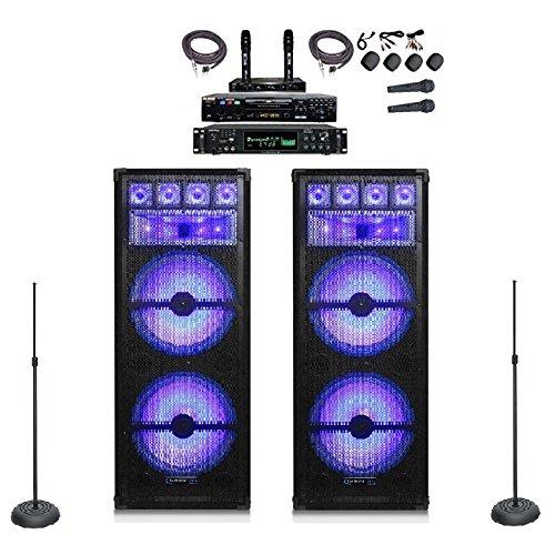 NEW 5000 WATT PROFESSIONAL KARAOKE SYSTEM LED