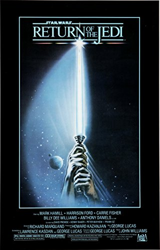 "Star Wars: Episode VI - Return of the Jedi (1983) Movie Poster 24""x36"""