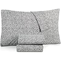 BCBGeneration Cotton Percale 200 Thread Count Twin XL Sheet Set (Leopard Dot)