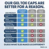 Dr. Frederick's Original Gel Toe Caps - 6 Pieces