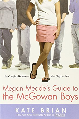 Book cover for Megan Meade's Guide to the McGowan Boys