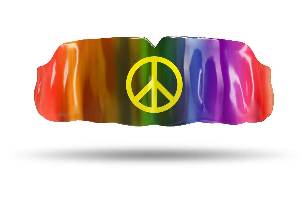 Impact Custom Professional All Sports Mouthguard Inspirational Series Peace by Impact Custom Mouthguard