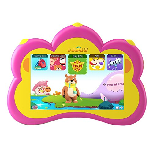 B.B.PAW Kids Tablet Used 7 inch English Edition Le...