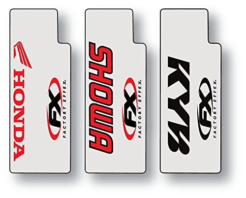 Factory Effex (06-38302 Red Upper Fork Shield Graphic ()