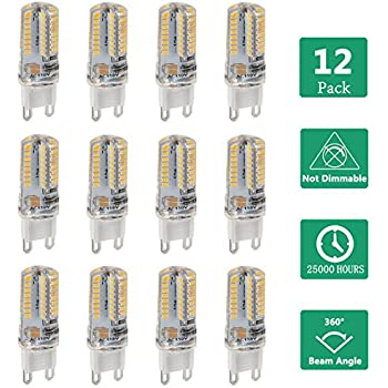 G9 Led Bulb 2 5w 225lm Equivalent To G9 25w Halogen Bulb