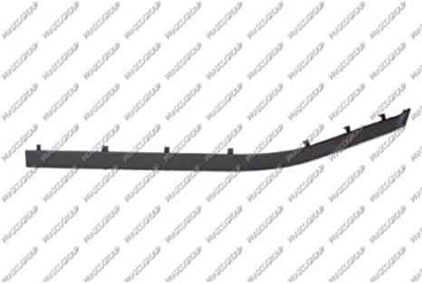 destra Paraurti anteriore modanatura Onlay sinistra