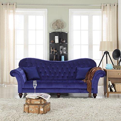 Classic-Tufted-Velvet-Victorian-Sofa