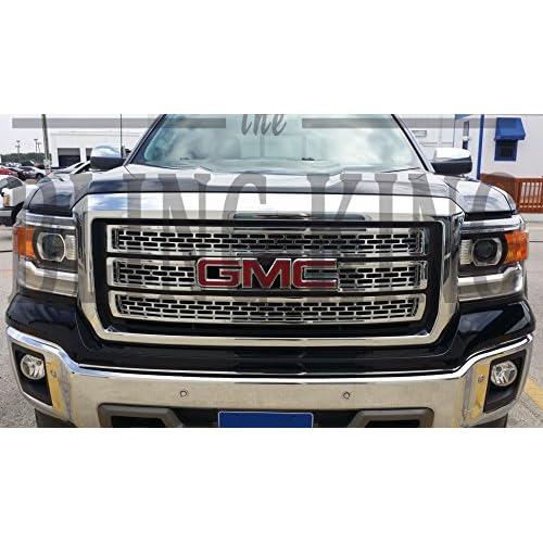 80%OFF 2014-2015 GMC Sierra Chrome Mesh Grille Grill