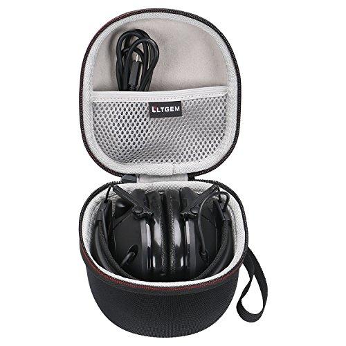 LTGEM EVA Hard Case for Peltor Sport Tactical 100/300 / 500 Electronic Hearing Protector - Carrying Storage Bag