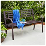 """IMPERIAL POWER Steel Bench, 50"""", Brown"""