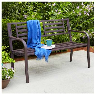 IMPERIAL POWER Steel Bench, 50 , Brown