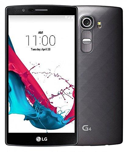 LG G4 H810 32GB Unlocked GSM 4G LTE Hexa-Core Android Smartphone w/ 16MP Camera - Metallic Black (Best Low Cost Unlocked Smartphone)