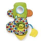 Skip Hop Bandana Buddies Soft Activity Puppet Book, Monkey