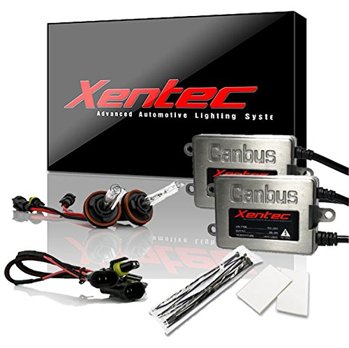 Xentec Xenon bulb H11 (H8/H9) 6000K bundle with 45W Error Free Slim CANBUS Ballast (ultra white)