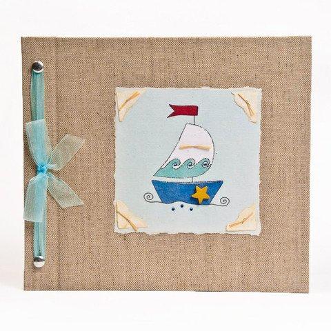 B00UEWP0MW Hugs and Kisses XO Baby Memory Book: Sailboat Boy Baby Album from Birth to 5 Years 51Ql0hprt7L