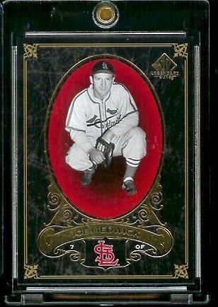 2007 Upper Deck SP Legendary Cuts # 88 Joe Medwick - Cardinals - Baseball Trading Card ()