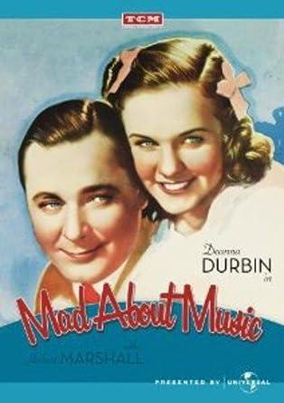 Amazon com: Mad About Music: Norman Taurog, Deanna Durbin, Gail