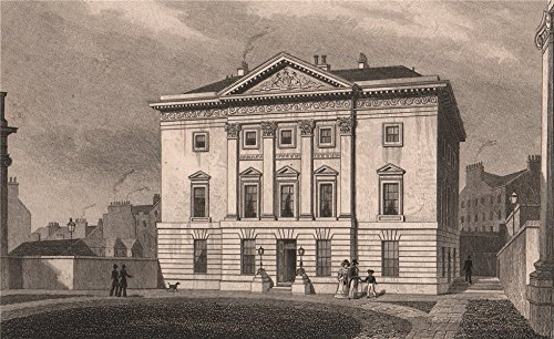 edinburgh-dundas-house-st-andrew-square-royal-bank-of-scotland-shepherd-1833-old-print-antique-print