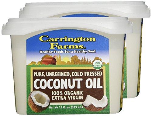 CARRINGTON FARMS OIL COCONUT, 12 OZ (Pack of 2).
