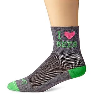 SockGuy Men's Heart Beer Socks