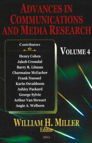 Read Online Advances in Communications and Media Research pdf