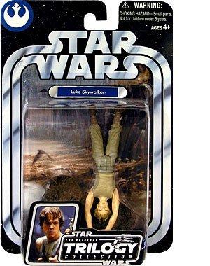 Star Wars Original Trilogy Collection OTC Luke Skywalker Dagobah Swamp (Upside Down) -