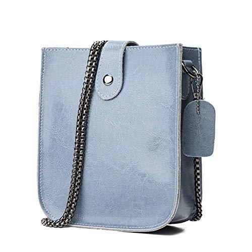 Cuadrado Bolso Mochila De Pequeño Azul color Rosa Hombro Eeayyygch Tamaño Bag Messenger Azul d5q0tZawx