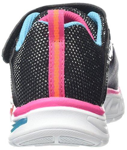 Skechers Entrenadores colorburst Para multi black Colores Niñas Litebeams Varios rqEgxBrn