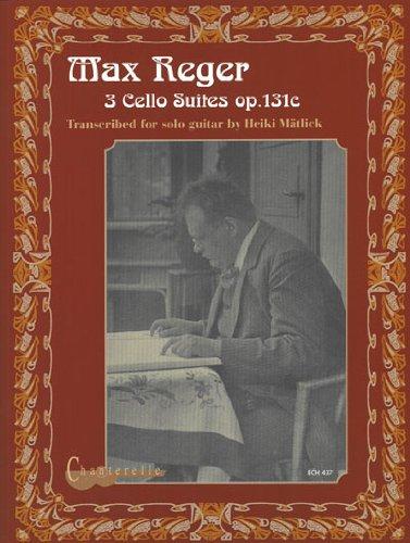 Download Max Reger: 3 Cello Suites op.131c PDF