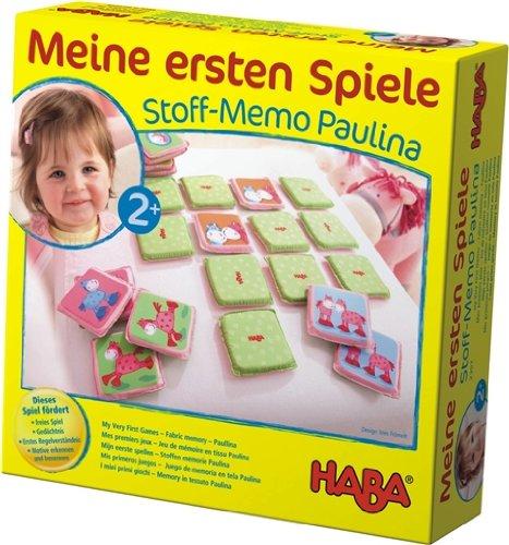 2357 - HABA - Meine ersten Spiele - Stoffmemo Paulina