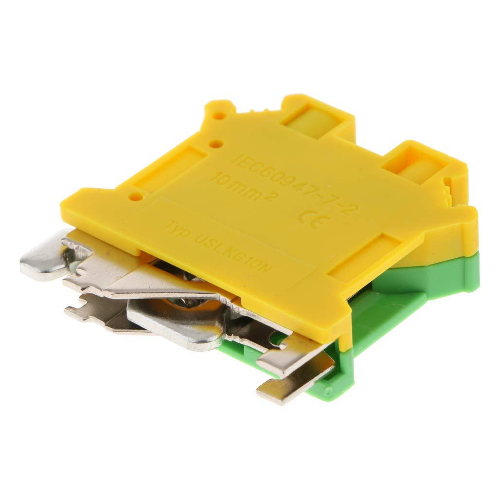 uslkg-10 B Baosity 150A Borniers /à Vis Connecteurs /à Vis Rail DIN Connecteur de Circuit