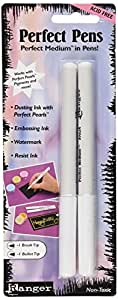Ranger Perfect Pens Set, 2/Pack, Clear