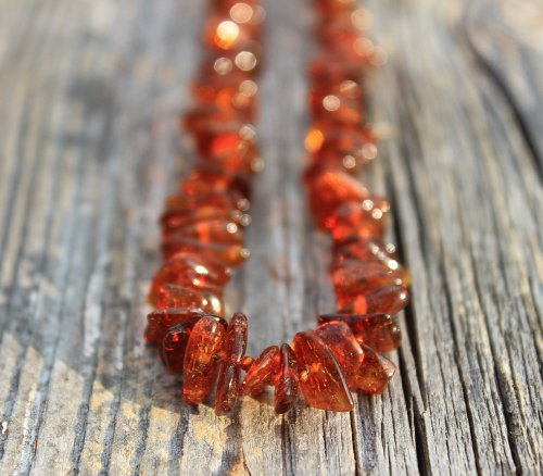 Gumstone Natural Amber Teething Necklace | 13