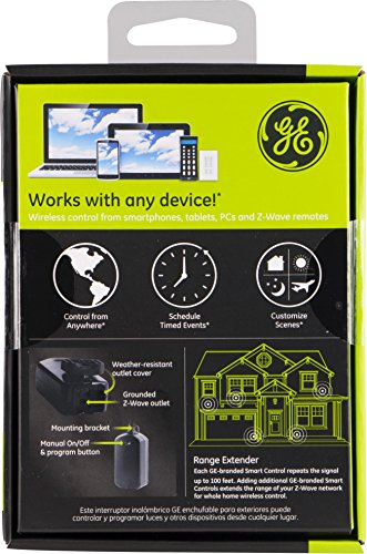 GE Z-Wave Plug-in Outdoor Smart Switch