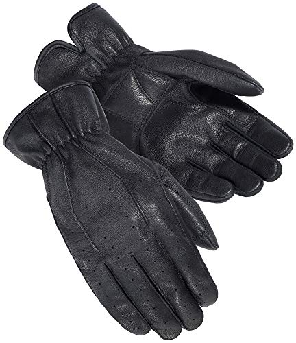 Tour Master Select Summer 2.0 Men's Street Motorcycle Gloves - Black/Large