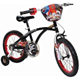 Power Rangers Boys 16-Inch Mega Force Bike, Black and Red